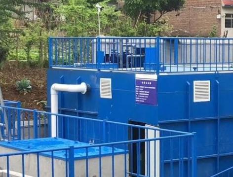 福建某县安装农村污水处理设备-肖书记