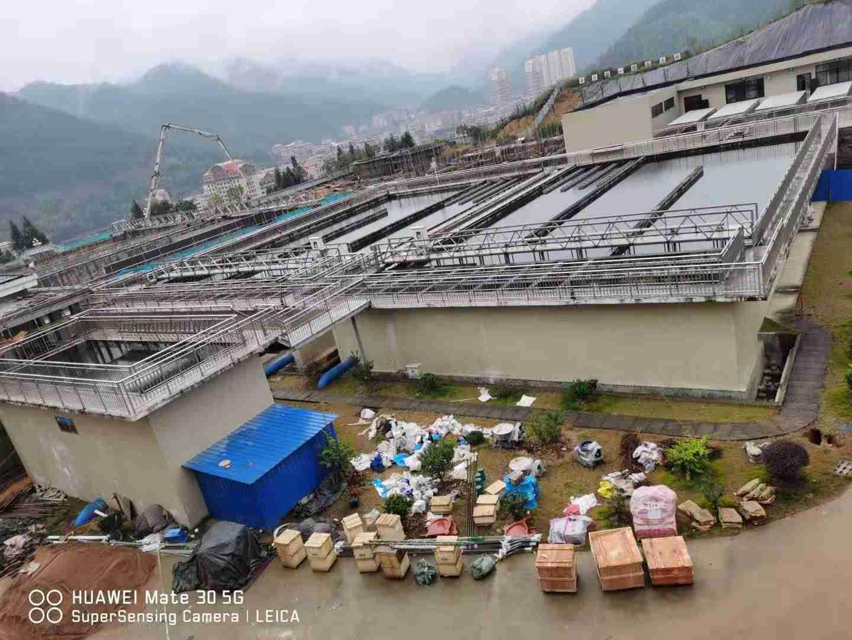 福建大田县污水处理项目