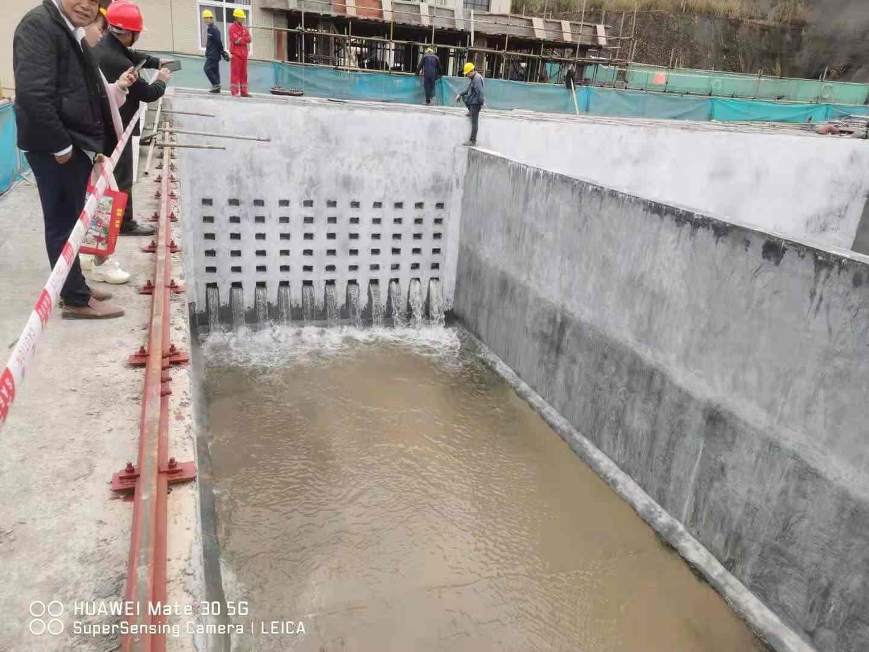 供水设备施工现场